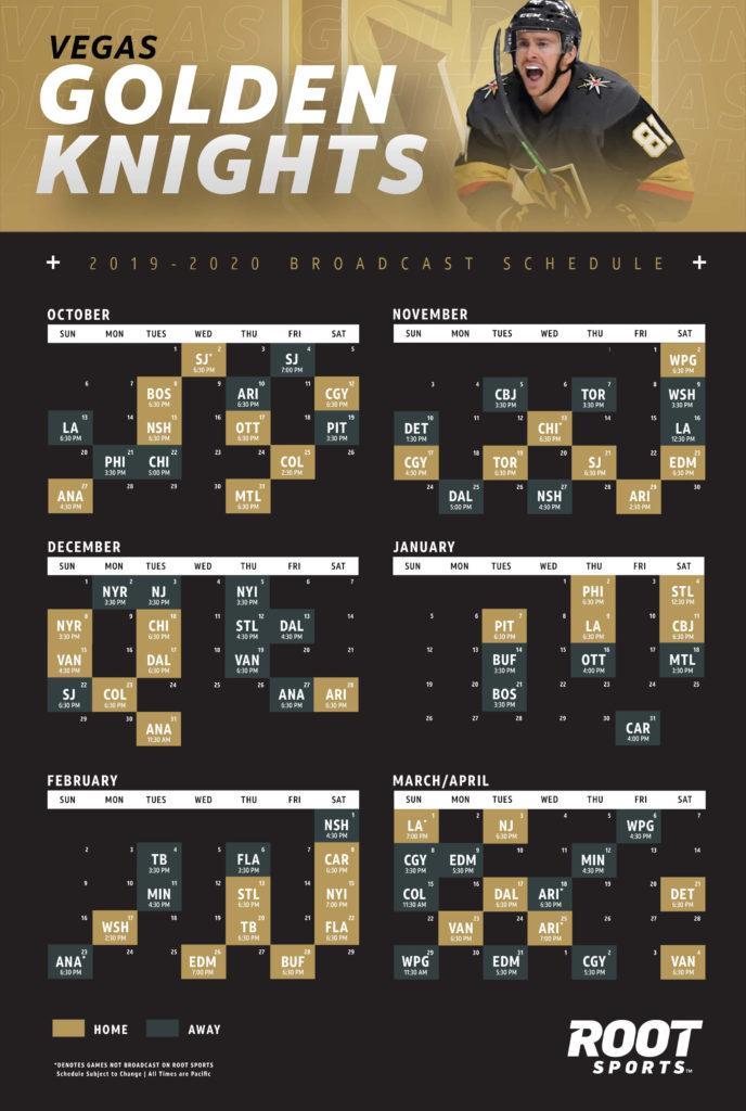 Vegas Golden Knights ROOT SPORTS